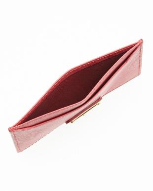 ピンク カードケース見る