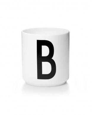 B/W  アルネ・ヤコブセン ポーセリンマグカップ、ポーセリンマグカップ用フタ BLUE/ORANGE見る