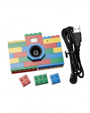 マルチカラー LEGO ヴィンテージトイカメラ見る
