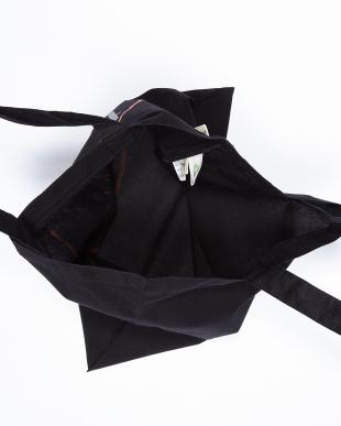 Black organic tote bag見る