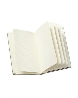 グリーン  ブレンドコレクション ノートブック ルールド(横罫)ポケット見る