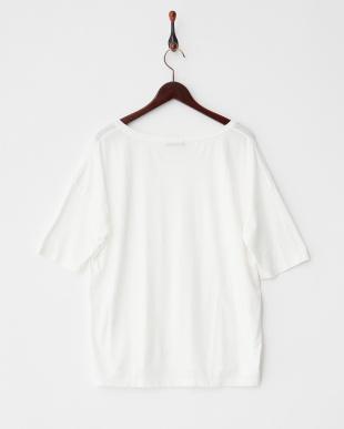 オフホワイト  C/RリラックスTシャツ見る