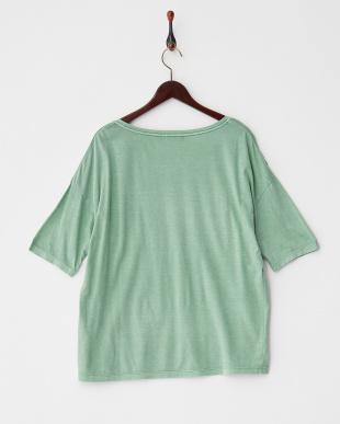グリーン  C/RリラックスTシャツ見る