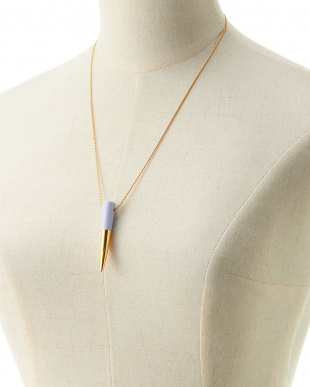 BLUE×GOLD  FLAT-TOP FANG  NECKLACE見る