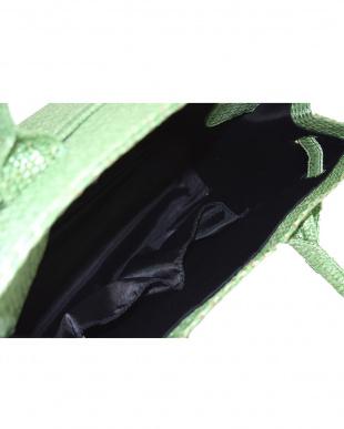 Apple Green Herbe グラスBAG M(Metaliic Series)見る