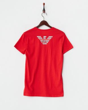 レッド  バックイーグル半袖Tシャツ見る