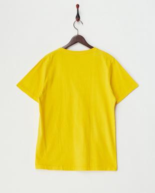YELLOW  ピグメント加工VネックポケットTシャツ見る
