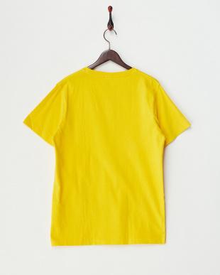 YELLOW  ピグメント加工クルーネックポケットTシャツ見る