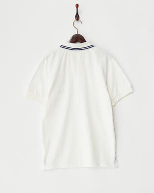 WHITE  ワッペンポロシャツ見る