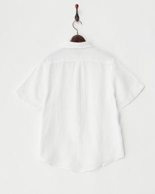 WHITE  リネンシャツ見る