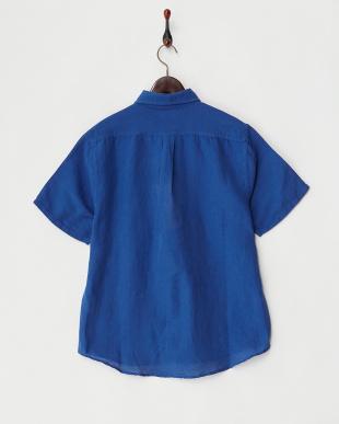 NAVY  リネンシャツ見る