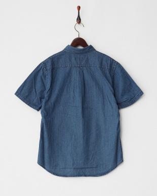 VINTAGE WASH  刺繍デニムシャツ見る