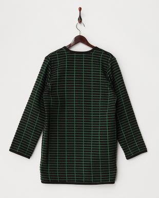 ブラック×グリーン系 NINA Coat見る