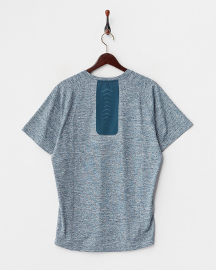 BLUE WING TEAL HEATHER  BONDED SS TEE見る