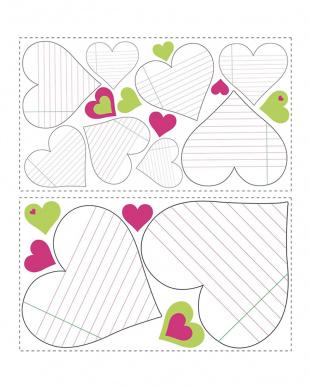 Heart Notepad Dry Erase見る