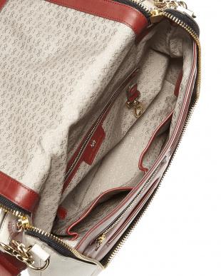 Chalk/Dark Olive Mx Zip Satchel Diamonds Bag見る