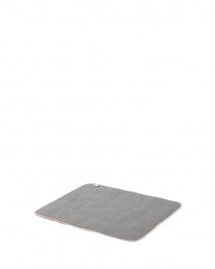 ベージュ  シャギーラグ 90×120cm見る