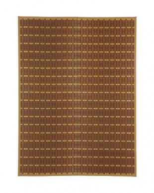 ブラウン 雅 国産い草ラグ 191×250cm見る
