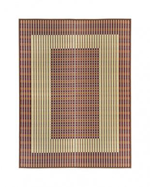 ブラウン  築彩 国産い草ラグ 191×250cm見る