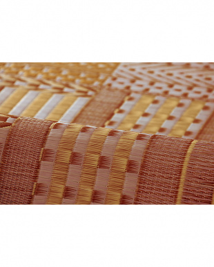 ブラウン  オリエンタル 国産い草マット 30×120cm見る
