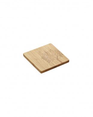 bambu(バンブー)ツリーモチーフコースター4枚SET見る