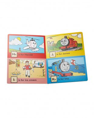 洋書知育絵本「Thomas' ABC」見る