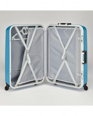 ブルー  バロス スーツケース 91リットル見る