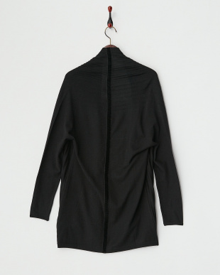 BLACK MAKEUP Knitted Jacket見る