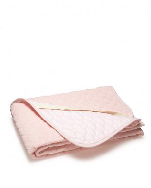 ピンク  シンカーパイルパッドシーツ シングル見る
