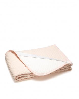 ピンク  シンカーパイルポコポコ敷きパッドシーツ シングル見る