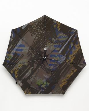 カーキ 防水スプリングレオパード傘見る