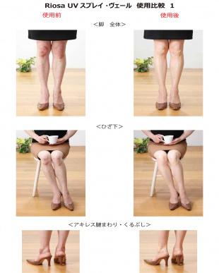 UVスプレイ・ヴェール(Face&Body用化粧下地/ファンデーション)+スポンジパフ(ケース付き)見る