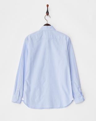 ブルー シャンブレーシャツ見る
