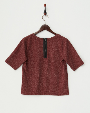 RED ZIP BACK TEE トップス見る