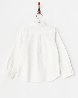 ホワイト  オックスシャツ見る