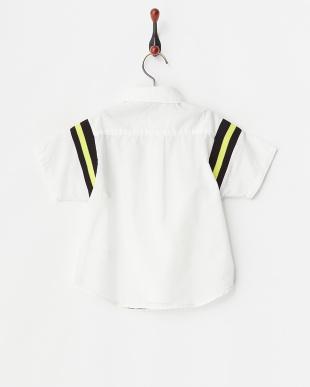 ホワイト  スポーツハンソデシャツ見る
