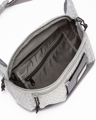 Grey Heather Diamond Ripstop SAVIOR WAIST BAG見る