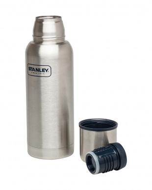 シルバー 真空断熱ボトル0.73L見る