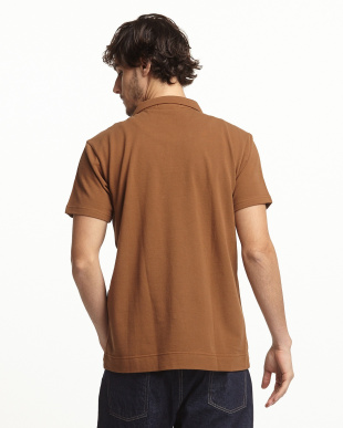 Brown  鹿の子スキッパー ポロシャツ DOORS見る