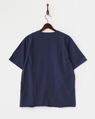 Navy  Washed クルーネックTシャツ DOORS見る