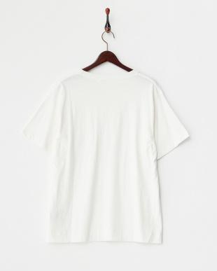 White Knit Pocket Tシャツ DOORS見る