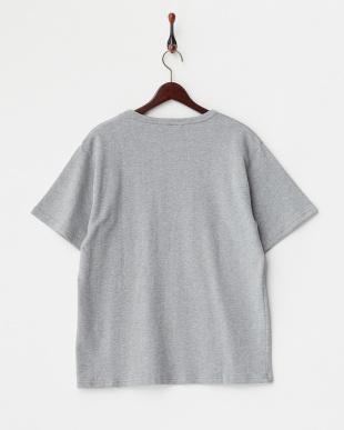 T.Grey  クレーターインレイ ラインTシャツ DOORS見る