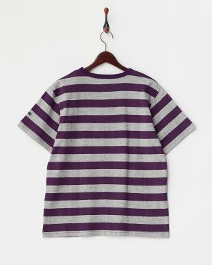 T.GRYxPPL  Hemp Cotton Border Tシャツ DOORS見る