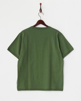 Green  Open End ショートスリーブTシャツ DOORS見る