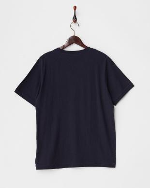NAVY  Belgium Linen Mix ショートスリーブTシャツ DOORS見る