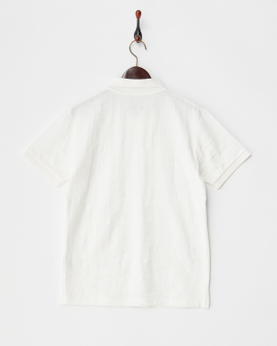 White  Camoジャガード ポロシャツ DOORS見る