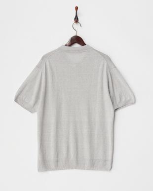L.Gry Linen Knit ポロシャツ DOORS見る