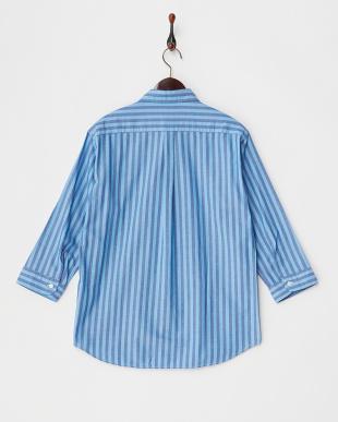 Stripe パナマドビー7分袖 Shirts DOORS見る