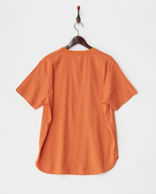 Orange ストレッチリネン布帛 Tシャツ DOORS見る