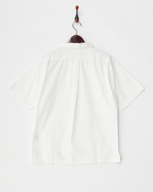 White  Open Collar ショートスリーブシャツ DOORS見る